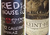 Wine Review Jan 10 – 2012 Red House Wine Co Cabernet Shiraz – 2012 Keint-he Voyageur Chardonnay