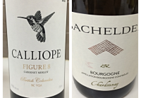 Wine Review January 31 – 2012 Bachelder Bourgogne Chardonnay – 2013 Calliope Figure Eight