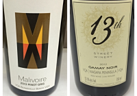 March 7 – 2013 Malivoire Pinot Gris – 2012 13th Street Gamay Noir