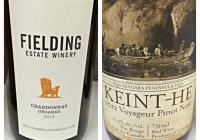 March 14 – 2013 Fielding Unoaked Chardonnay – 2012 Keint-He Voyageur Pinot Noir