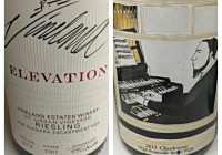 March 28 – 2012 Vineland Elevation Riesling – 2012 Organized Crime Chardonnay