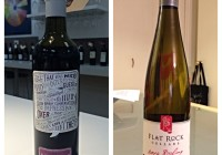 April 4 – 2012 Small Talk Vineyards Recap Syrah – 2014 Flat Rock Riesling