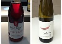 April 18 – 2014 Flat Rock Pink Twisted – 2013 Featherstone Gewurztraminer