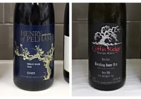 Sep 30 – 2015 Coffin Ridge Bone Dry Riesling – 2010 Henry of Pelham Estate Pinot Noir