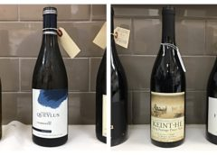 Oct 14 – 2013 Domaine Queylus Tradition Chardonnay – 2014 Keint-He Portage Pinot Noir