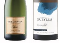 Blue Mountain Gold Label Brut Sparkling – 2014 Domaine Queylus Tradition Chardonnay