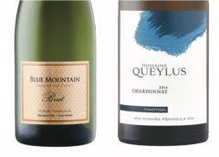 Blue Mountain Gold Label Brut Sparkling – 2014 Domaine Queylus Tradition Chardonnay