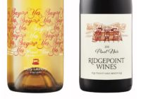 2011 Ridgepoint Pinot Noir – 2014 Dirty Laundry 'Say Yes' Pinot Gris