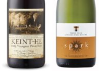 2014 Tawse Spark Limestone Ridge Sparkling Riesling – 2014 Keint-He Voyageur Pinot Noir