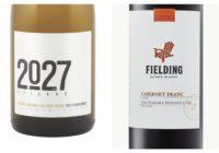 2014 2027 Wismer Vineyard Foxcroft Block Chardonnay –  2015 Fielding Cabernet Franc