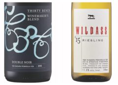 2015 Thirty Bench Winemaker's Blend Double Noir – 2015 Wildass Riesling