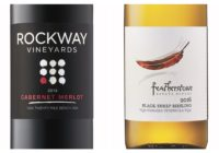 2013 Rockway Vineyards Cabernet/Merlot – 2016 Featherstone Black Sheep Riesling