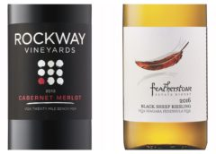 2013 Rockway Vineyards Cabernet/Merlot – 2016 Featherstone Black Sheep Riesling
