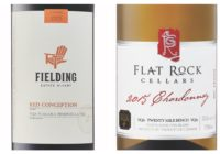 2015 Flat Rock Chardonnay – 2015 Fielding Red Conception