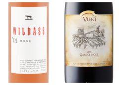 2015 Vieni Gamay Noir – 2016 Wildass Rosé
