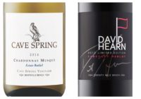 2015 Cave Spring Estate Bottled Chardonnay Musqué – 2013 David Hearn Limited Edition Cabernet/Merlot