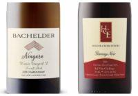 2013 Bachelder Wismer Vineyard Foxcroft Block Chardonnay – 2014 Hillier Creek Gamay Noir