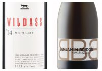 2015 Wildass Merlot – 2011 Benjamin Bridge Brut Sparkling Wine