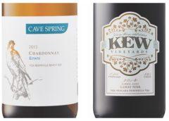 2014 Kew Barrel Aged Gamay Noir – 2015 Cave Spring Estate Chardonnay
