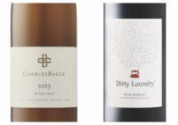 2014 Dirty Laundry Merlot – 2013 Charles Baker Piccone Vineyard Riesling