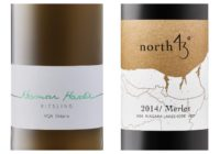 Wine Review – 2016 Norman Hardie Riesling – 2013 North 43 Cabernet Franc