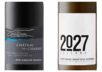 2027 Cellars Wismer Fox Croft Block Riesling – 2014 Chateau des Charmes St David's Bench Cabernet Sauvignon