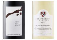 Wine Review – 2016 Reif Estate Sauvignon Blanc – 2012 16 Mile Cellars Rebel Pinot Noir