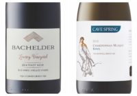 Wine Review – 2014 Bachelder Lowrey Vineyard Old Vines Pinot Noir – 2015 Cave Spring Chardonnay Musqué