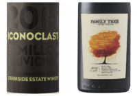 Wine Review – 2014 Henry of Pelham Family Tree Red – 2015 Creekside Iconoclast Sémillon/Sauvignon Blanc
