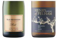 Wine Review – Blue Mountain Gold Label Brut Sparkling  – 2013 Henry of Pelham Estate Riesling