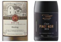 Wine Review – 2013 Westcott Estate Pinot Noir – 2015 Hidden Bench Riesling
