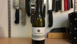 Wine Review- 2015 Trail Estate Unfiltered Chardonnay