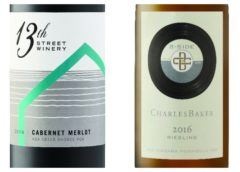 Wine Review – 2016 Charles Baker B-Side Riesling – 2016 13th Street Cabernet/Merlot