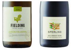 Wine Review – 2015 Sperling Vineyards Pinot Noir – 2016 Fielding Gewurztraminer