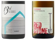Wine Review – 2016 13th Street Gamay Noir – 2013 Redstone Chardonnay
