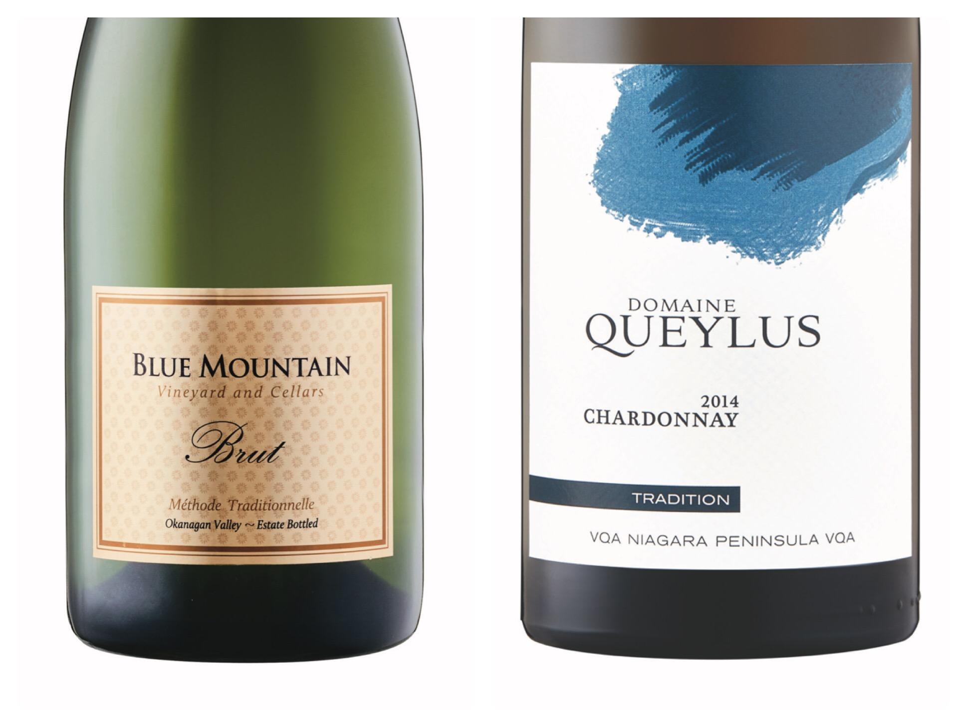 Blue Mountain Gold Label Brut Sparkling 2014 Domaine